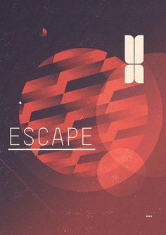 tumblr_m4kuk48Yqi1qh2jkmo2_1280.png (PNG Image, 561×795 pixels) #retro #space #astronomy #distressed #escape