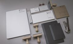 PF DESIGN STUDIO on Branding Served #stationery