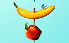 Work In Progress | Flickr Photo Sharing! #surrealism #apple #banana #fruit