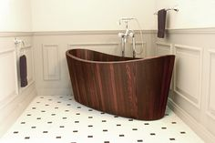 bathtub by Frants Seer - www.homeworlddesign. com (13) #design #bathroom #bathtub