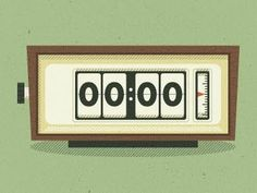 mid-century-flip-clock-illustration.jpg 400×300 pixels #jpg #400300 #flip #illustration #mid #century #clock #pixels