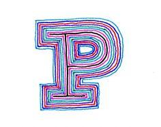 ALPHABATTLE – P — LetterCult #typography