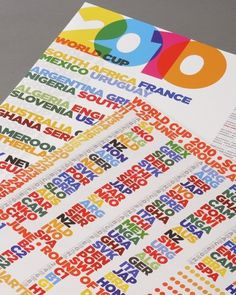 Soccer Aid poster 3 | Flickr - Photo Sharing! #type #overprinting #poster #trebleseven