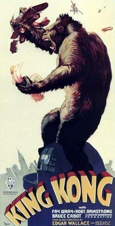 Vintage Posters #vintage #poster #king kong