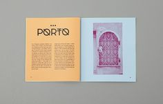 Positano Typeface on Typography Served #type #print #specimen #book