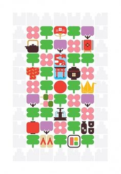 classic symbols japan by christopher dina #illustration #japanese #icons #symbols