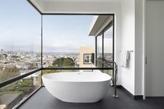 bathroom, 19th Street House by John Lum Architecture