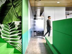 Barrows Office Space Design by Ghislaine Vinas - #office #interior