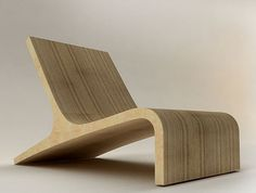Recent works - furniture on the Behance Network #chair #easy