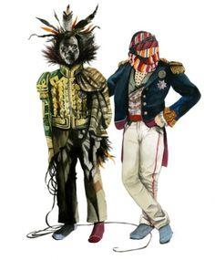 Kristian Hell #fredrik #press #illustration #tjernstrm #poster #pirates