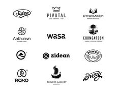 Logo collection #mark #logotype #logos #design #icons #symbol #vintage #logo #typography