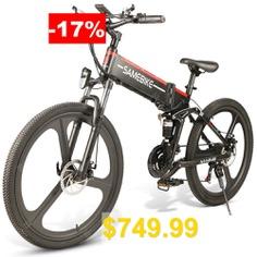 Samebike #LO26 #Moped #Electric #Bike #Smart #350W #30km #Per #Hour