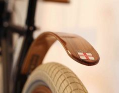 Rear Bike Fender by Wood's Fenders #tech #flow #gadget #gift #ideas #cool