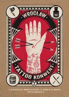 Dawid Ryski, tatoo convent, poster #convent #talkseek #tatoo #ryski #dawid