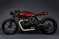 TRIUMPH SPEED TWIN CONCEPT by Roy Norton and Tom Kasher, in a collaboration with Triumph Motorcycles and Barbour Outdoor Clothing. #beauty #bike #custom #motorcycle #mc