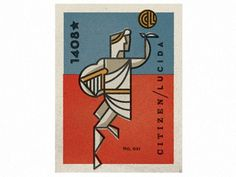 Dribbble - Apollo Matchbox by Scott Hill #matchbox #stamp #postage #illustration #apollo #vintage #type