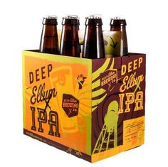 Deep Ellum Brewing Co. Packaging #packaging #beer #label #bottle