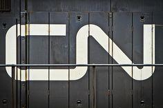 CN Logo Designed by Allan Fleming & CN Brand Guidelines #logo #branding #timeless