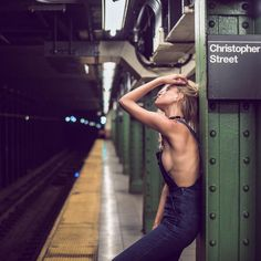 Underground NYC Portrait Series by Aaron Pegg