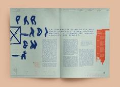 Nativos Digitales | Desplegable Tipográfico on Student Show