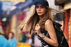 Cara Delevingne by Patrick Demarchelier #fashion #model #photography #girl