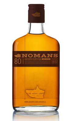 Noman's Rum #packaging #brand #branding