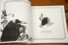 CY Single Edition. - Voyeur #ink #book #illustration #crow #editorial