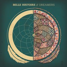 Belle Histoire - Dreamers on the Behance Network #histoire #tiles #album #artwork #dreamcatcher #belle