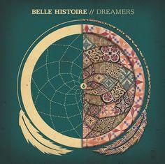 Belle Histoire - Dreamers on the Behance Network #histoire #tiles #album #artwork #dreamcatcher #belle