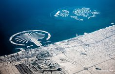 dubai by steffen walther #inspiration #creative #airplane #flying #photography #beautiful