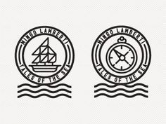 Dribbble - Mingo Lamberti by R A D I O #illustration #logo #icon #sea