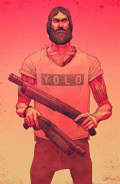 Illustrations by Eddie Kihm | Inspiration Grid | Design Inspiration #eddie #kihm #yolo