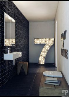 justthedesign:nnBathroom Design By Marcin Pajakn #spaces #room