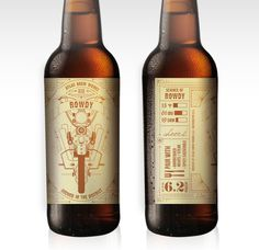 ATLAS_Rowdy.jpg #label #beer #bottle #atlas