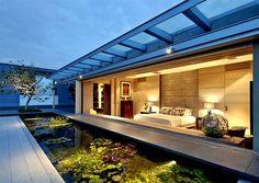 Elegant Asian House in Singapore - #architecture, #house, #housedesign, home, architecture, outdoor