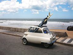 this isn't happiness.™ #ocean #tiny #car #surf