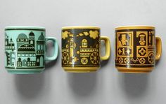 John Clappison. « Present&Correct #russian #retro #product #illustration #trend #cup
