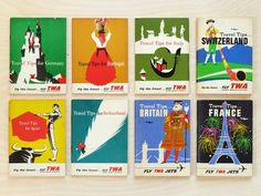 Present&Correct - Travel Tips #twa #travel #book #covers #vintage #overprint