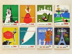 Present&Correct - Travel Tips #twa #travel #book #covers #vintage #overprint