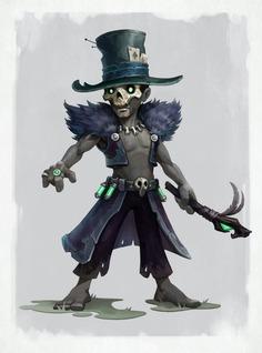 voodoo shaman Umrel