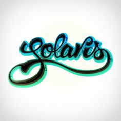 Solaris #lettering #handmadefont #davidrico