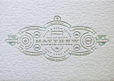 Allan Peters #type #design #letterpress #clean