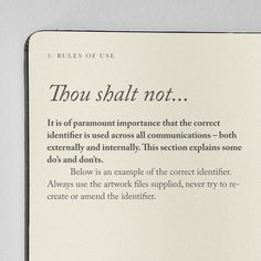 Creative Review Norwich Cathedral's brand bible #religion #guidelines
