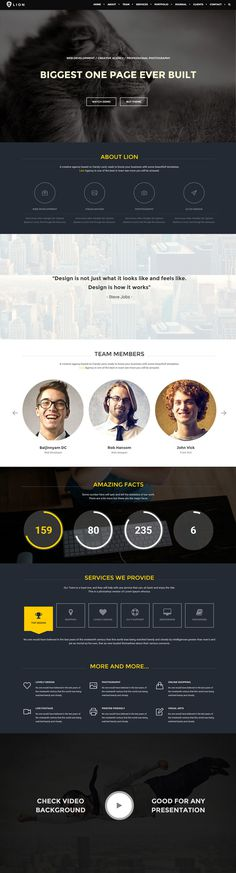 yellow, web design, website, concept, layout