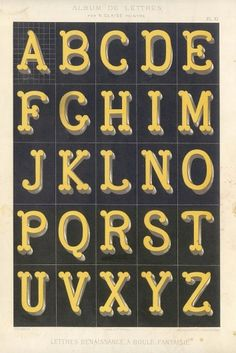All sizes | 1882lettres 16 | Flickr - Photo Sharing! #1800s #alphabet #typography