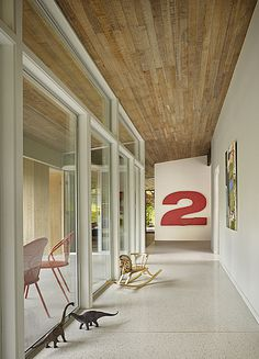 Lakewood Mid Century by DeForest Architects #interior #modern #design #architecture #number #huge