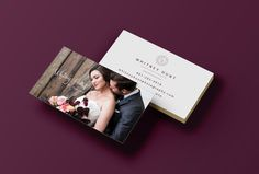 business cards, photography, photographer, branding, classic design