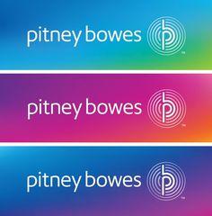 Pitney Bowes logo #branding #bowes #identity #pitney #logo