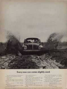 Volkswagen ads | Cartype #volkswagen #beetle #1969 #car