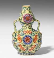 Gourds-Handle Vase #porcelain